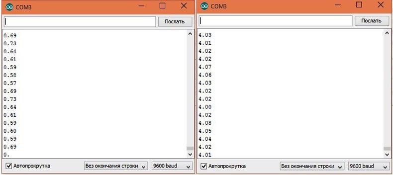 Передача данных из компьютера в микроконтроллер через монитор - 2