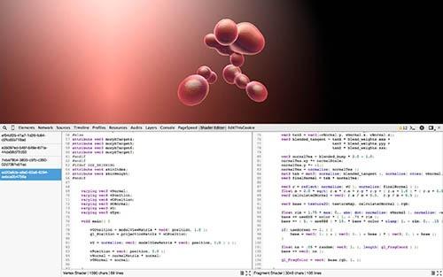 Редактирование шейдеров WebGL на лету — теперь и в Хроме - 1