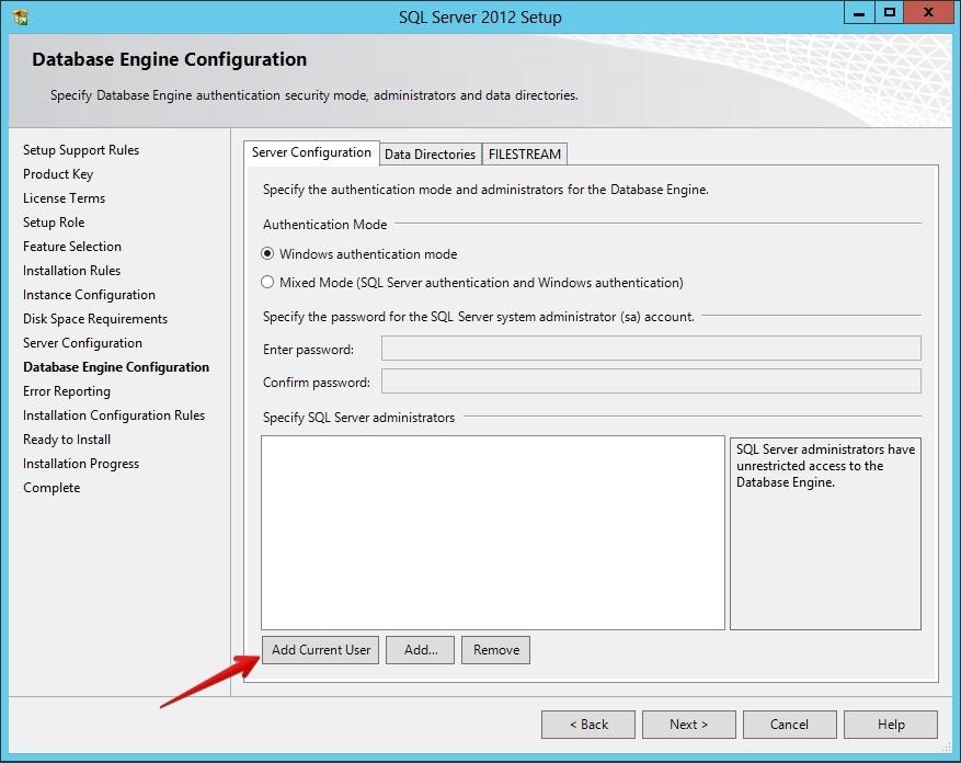 Установка SQL Server 2012 для SharePoint 2013 - 13