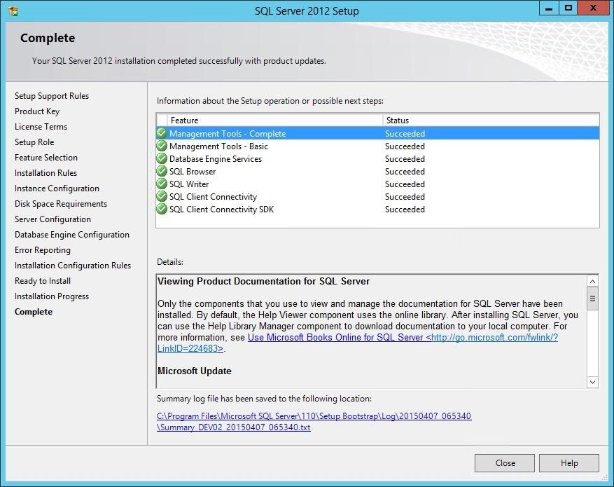 Установка SQL Server 2012 для SharePoint 2013 - 17