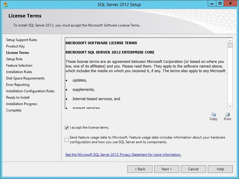 Установка SQL Server 2012 для SharePoint 2013 - 5