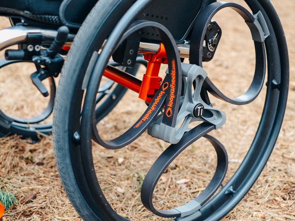 Новое переизобретение колеса со встроенными амортизаторами - 2