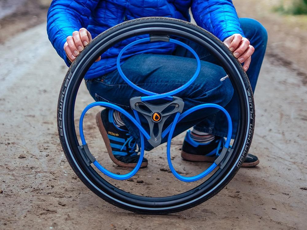Новое переизобретение колеса со встроенными амортизаторами - 1
