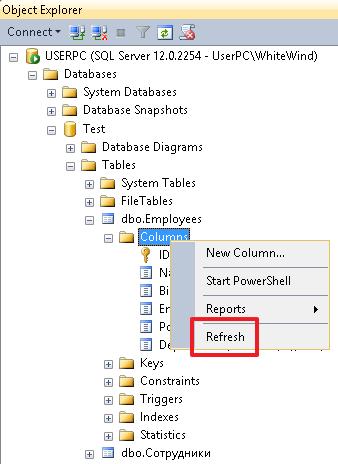 Учебник по языку SQL (DDL, DML) на примере диалекта MS SQL Server. Часть первая - 4