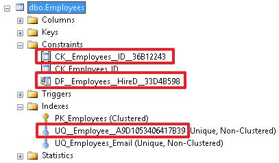 Учебник по языку SQL (DDL, DML) на примере диалекта MS SQL Server. Часть первая - 9