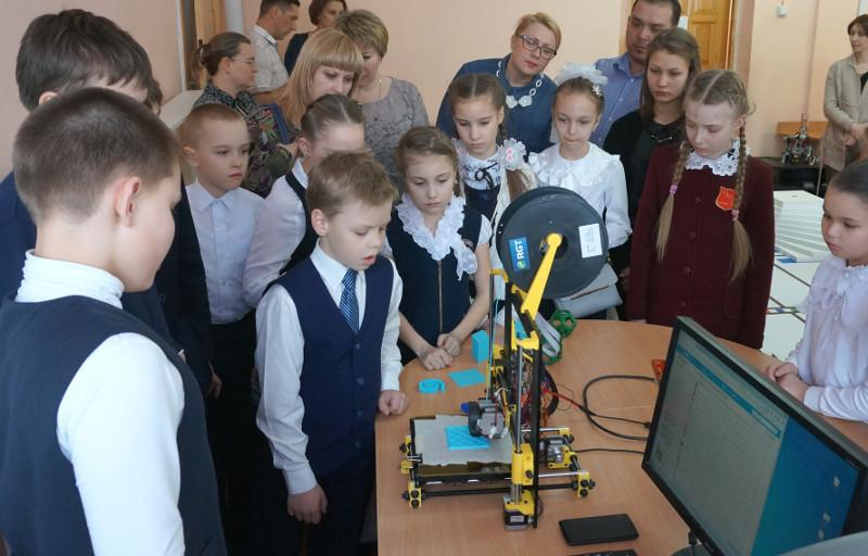3d принтер в кабинете информатики, опыт применения - 19