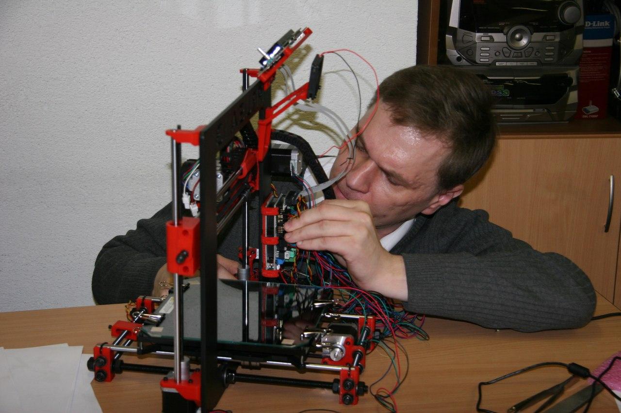 3d принтер в кабинете информатики, опыт применения - 2