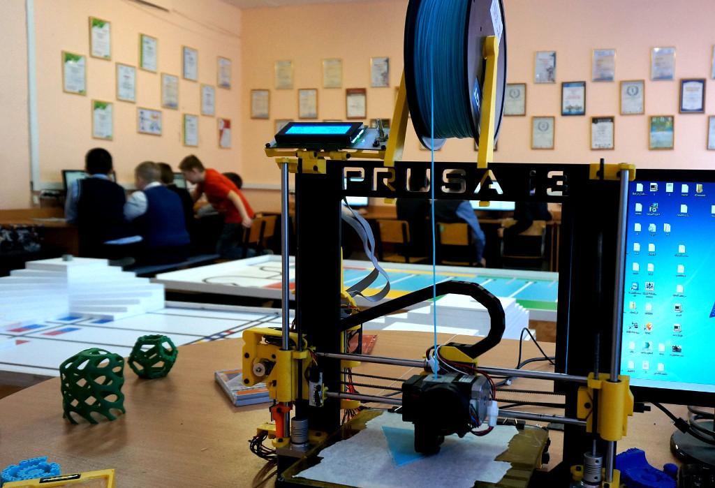 3d принтер в кабинете информатики, опыт применения - 1
