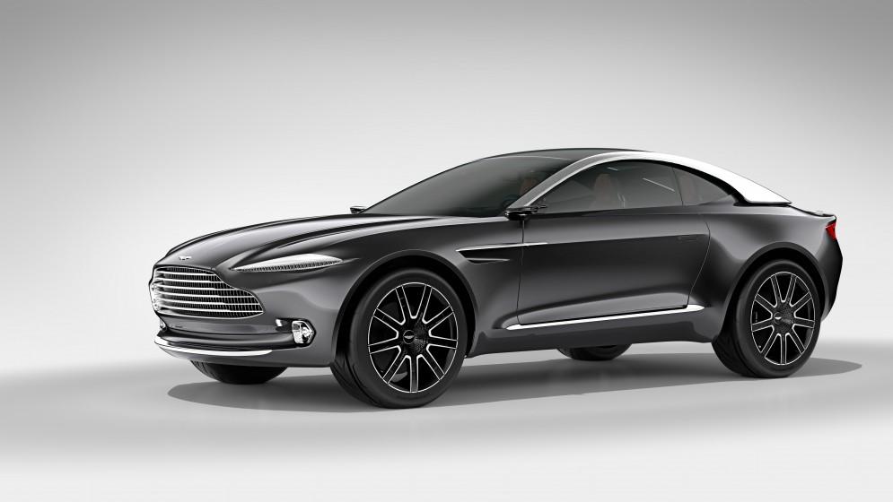 Aston Martin работает над гибридом и электрокаром - 1