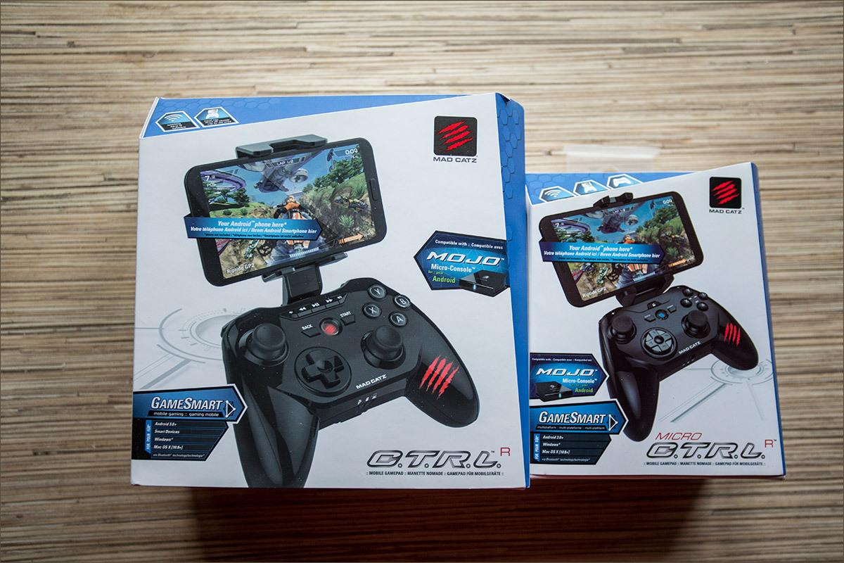 C.T.R.L. — семейство мобильных геймпадов от MadCatz - 7