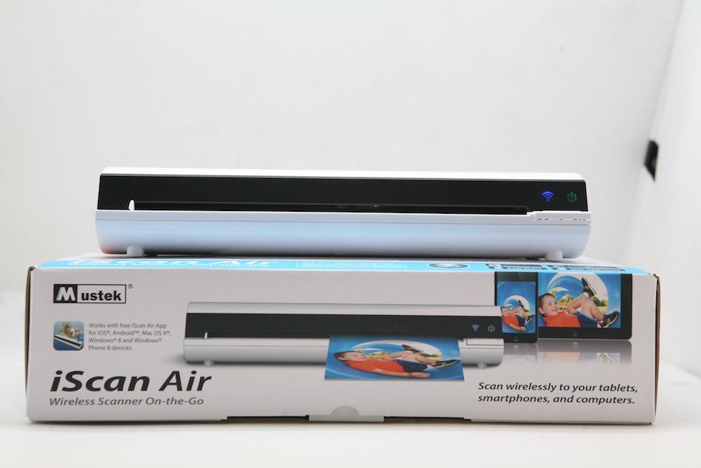 IScan Air — беспроводной портативный Wi-Fi сканер: обзор, характеристики, принцип работы - 1