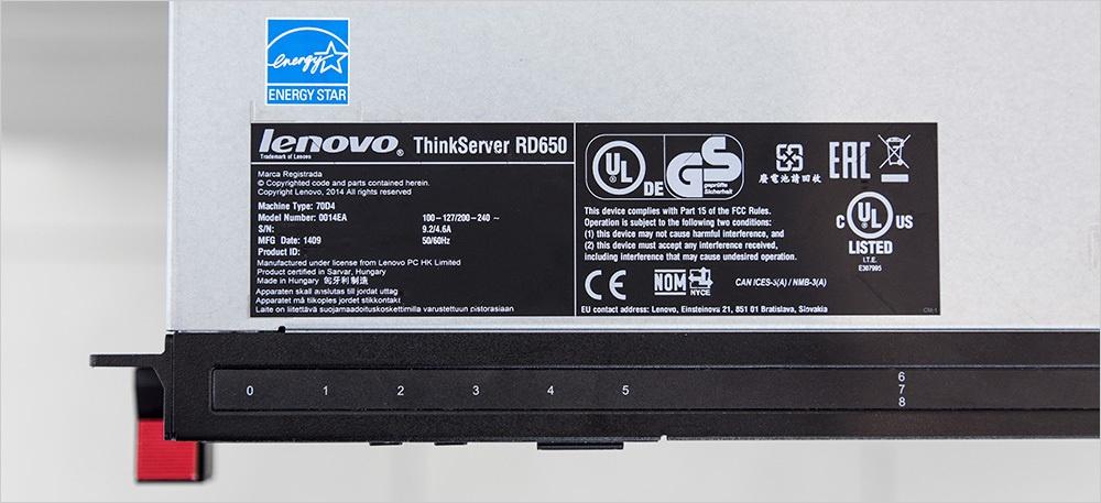 ThinkServer RD650: анатомия сервера нового поколения от Lenovo - 8