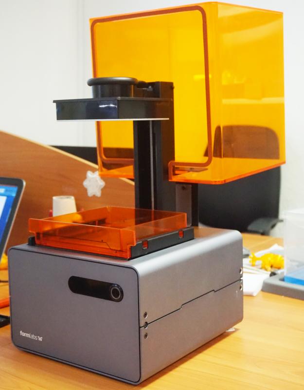 Профессиональное качество 3D-печати на рабочем столе: Formlabs Form 1+ - 3
