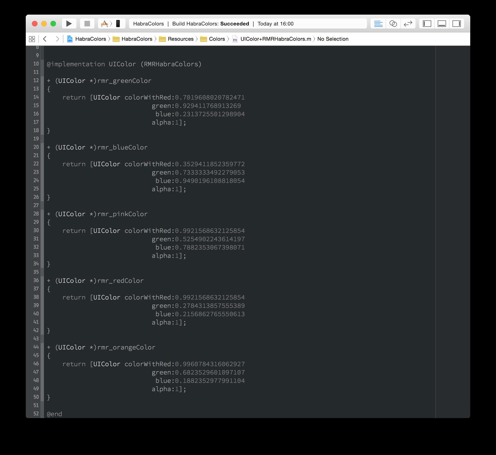 Стилизация iOS-приложений: как мы натягиваем шрифты, цвета и изображения - 3