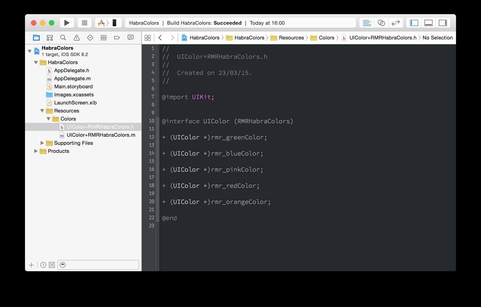 Стилизация iOS-приложений: как мы натягиваем шрифты, цвета и изображения - 7