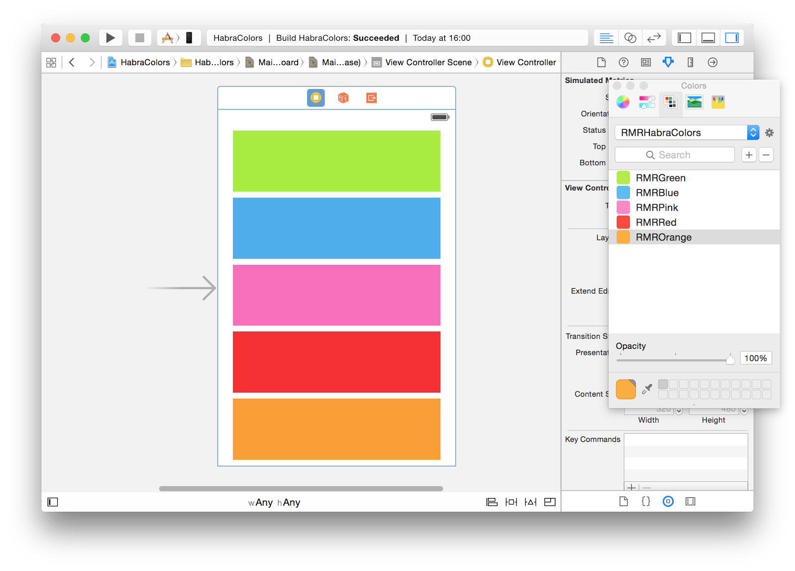 Стилизация iOS-приложений: как мы натягиваем шрифты, цвета и изображения - 8