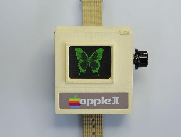 Своими руками: Apple Watch в стиле Apple II - 1