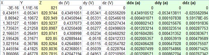 Имитация показаний датчиков с помощью массива точек пути - 17