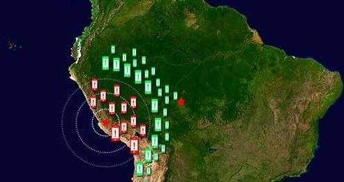 NASA смартфоны землетрясения