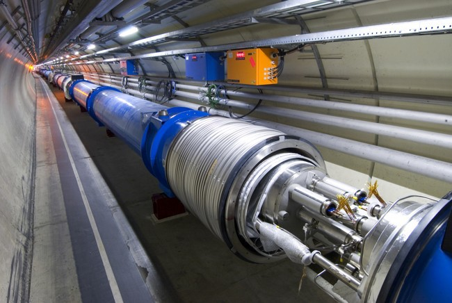 БАК запустил частицы с энергией 6,5 ТэВ - 2