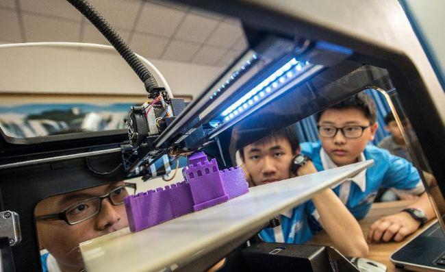 Китайское правительство планирует установить 3D принтеры во всех начальных школах страны - 1