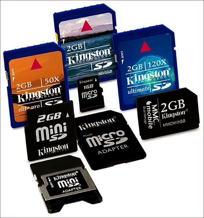 Классификация карт памяти - 1
