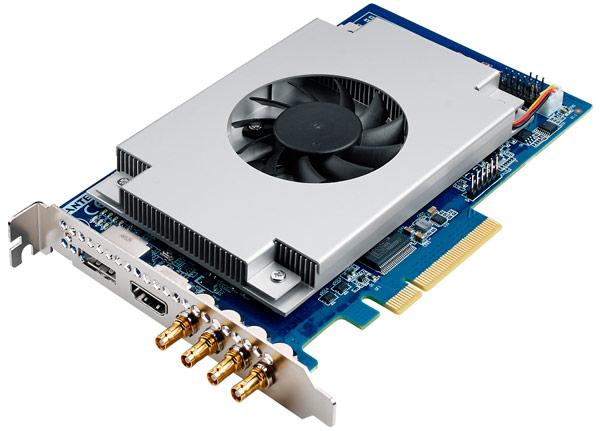 Ускорители Advantech HVC-8700 и HVC-8701 выполнены в виде карт расширения для шины PCI Express