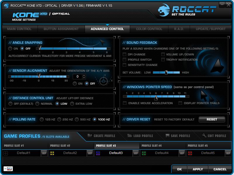 Мышки топ-сегмента – Roccat Kone XTD и Roccat Kone XTD Optical - 24
