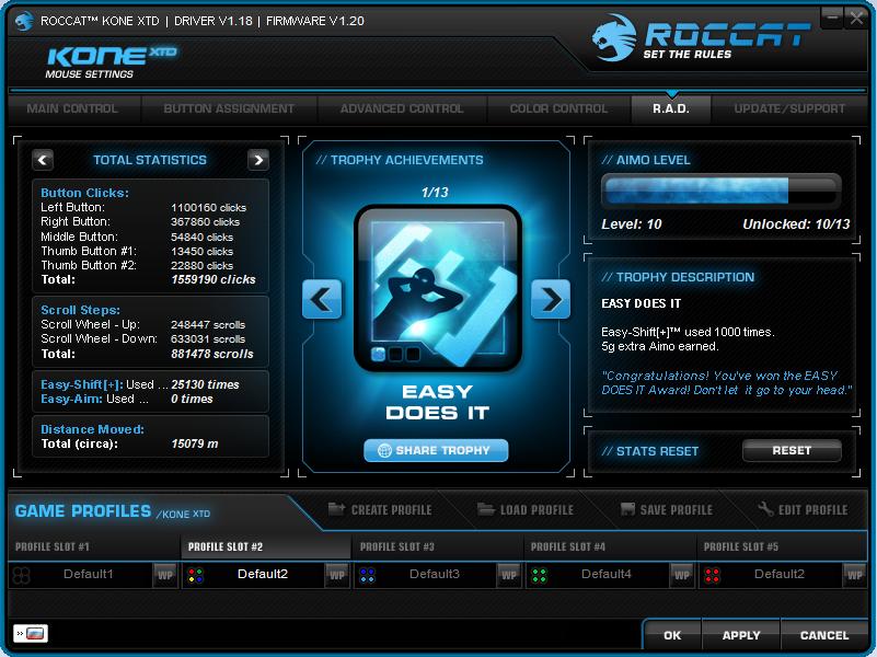 Мышки топ-сегмента – Roccat Kone XTD и Roccat Kone XTD Optical - 29
