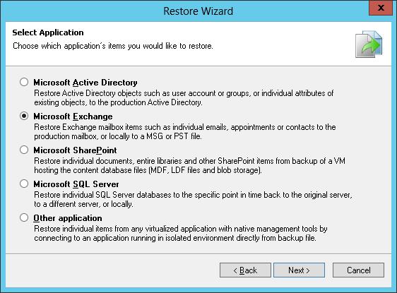 Резервное копирование и восстановление виртуализованного Microsoft Exchange с помощью Veeam Backup & Replication - 6