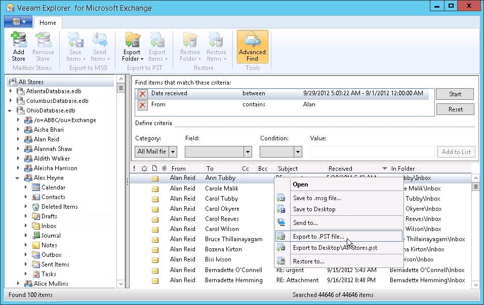 Резервное копирование и восстановление виртуализованного Microsoft Exchange с помощью Veeam Backup & Replication - 7