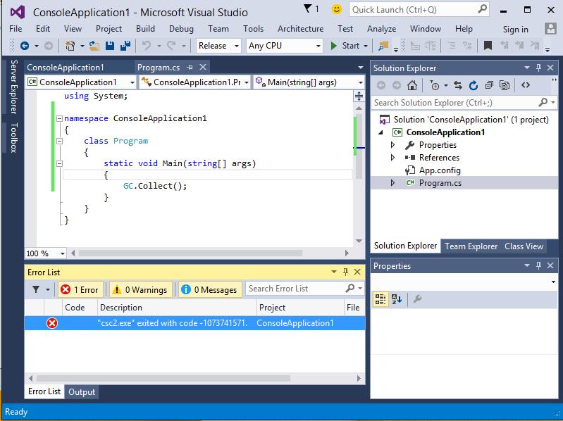 Сломанный legacy JIT в .NET 4.6 Preview - 3