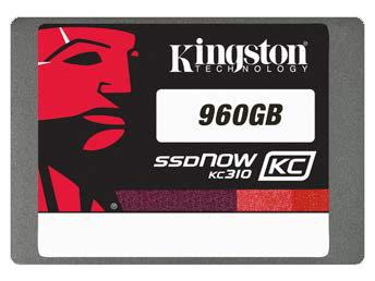 Kingston начинает поставки SSD KC310 объемом 960 ГБ