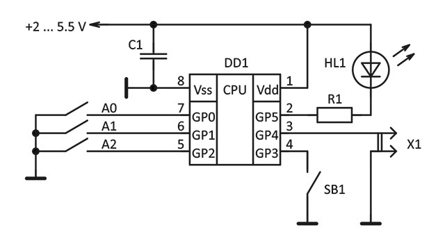 Делаем ИК-пульт ДУ для фотоаппарата - 4