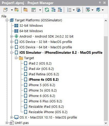 Как настроить Mac OS X, iOS-симулятор и RAD Studio XE8 (Delphi, C++ Builder) - 30