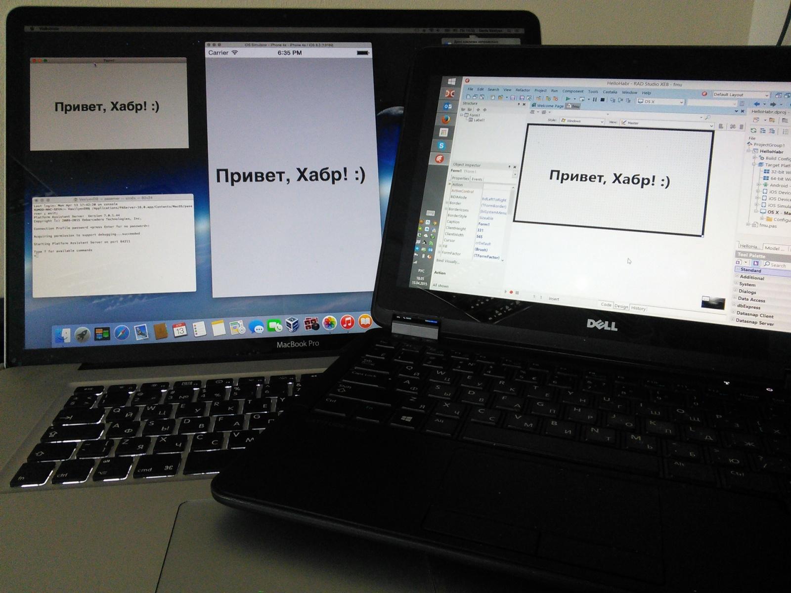 Как настроить Mac OS X, iOS-симулятор и RAD Studio XE8 (Delphi, C++ Builder) - 32