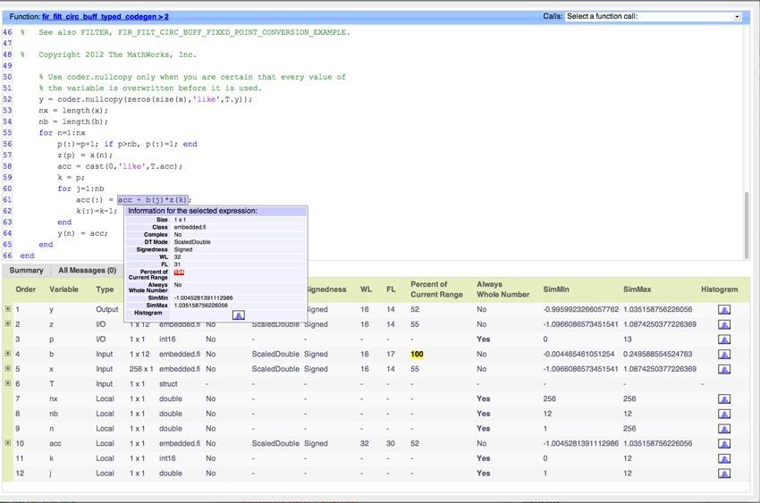 Лучшие подходы переноса кода MATLAB в фиксированную точку - 2