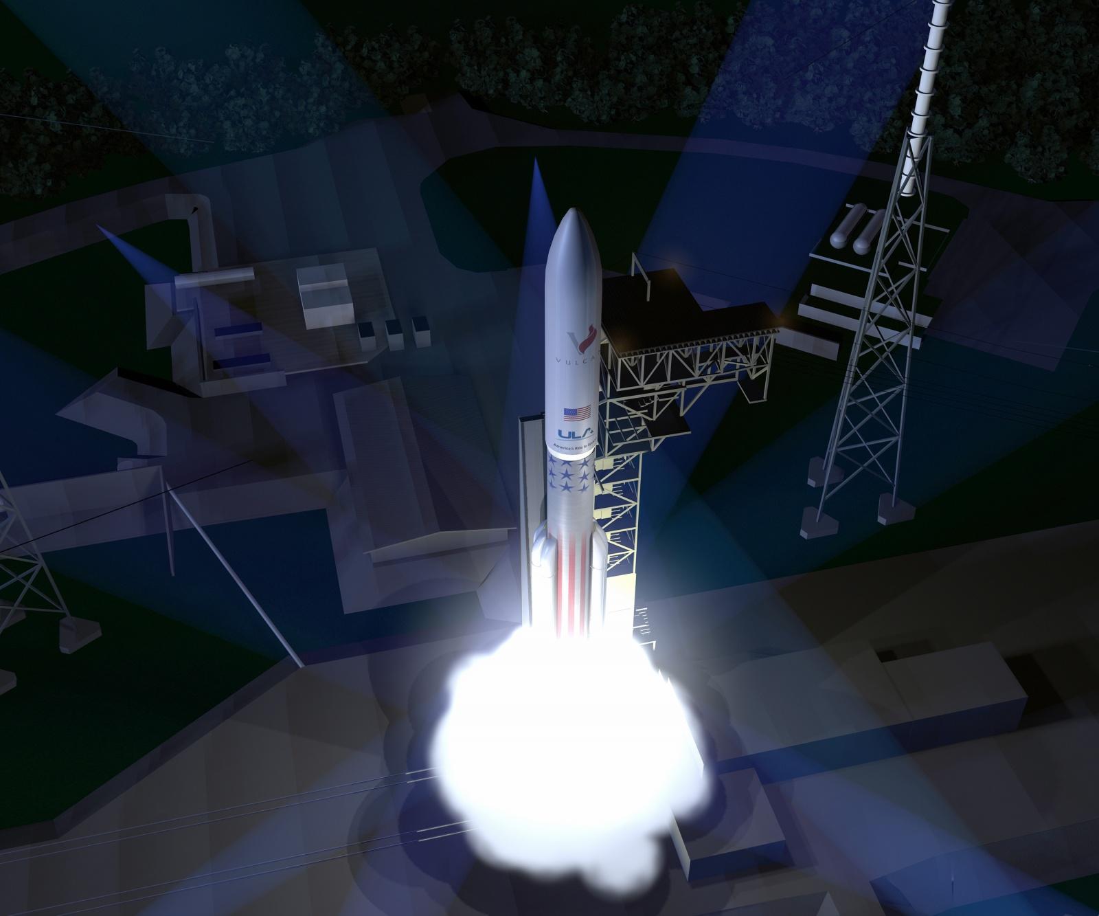 Новая повторно используемая ракета Vulcan - 1