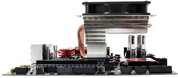 Процессорный охладитель Cooler Master GeminII S524 Ver.2 совместим с большим числом процессоров, чем его предшественник