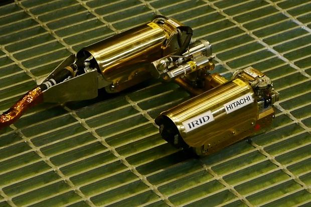 Робот, отправленный на разведку в реактор Фукусимы-1, застрял в пути - 1