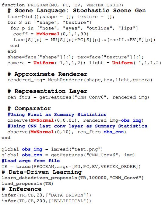 Вероятностное программирование в компьютерном зрении: 31 строка кода вместо тысяч - 2