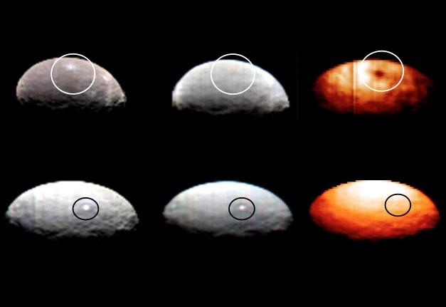 Зонд Dawn прислал цветные снимки карликовой планеты Цереры - 2