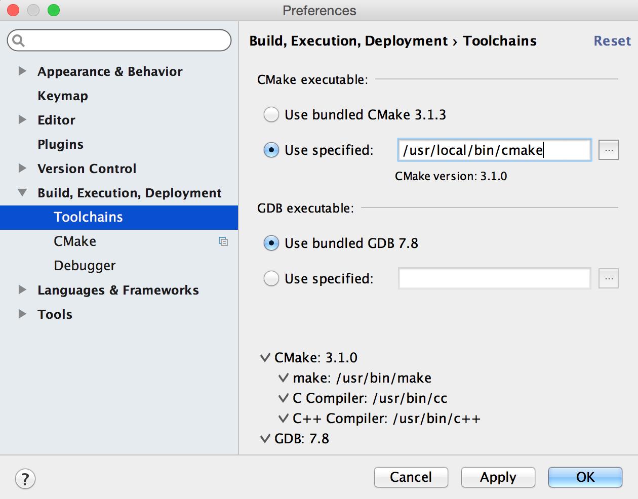 CLion 1.0 — мощный инструмент для мощного языка - 2
