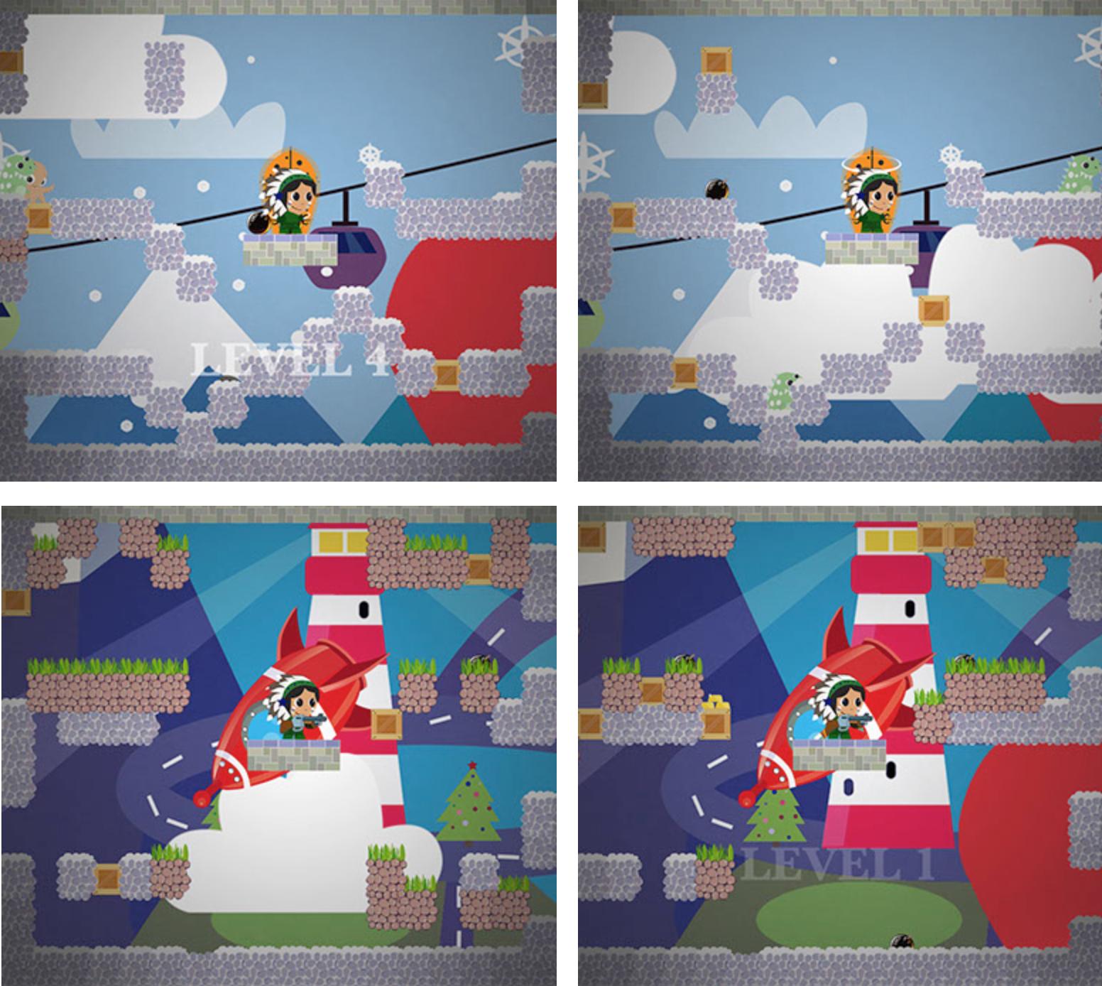 Алгоритмы интеллектуальной автогенерации уровней в iOS игре - 12