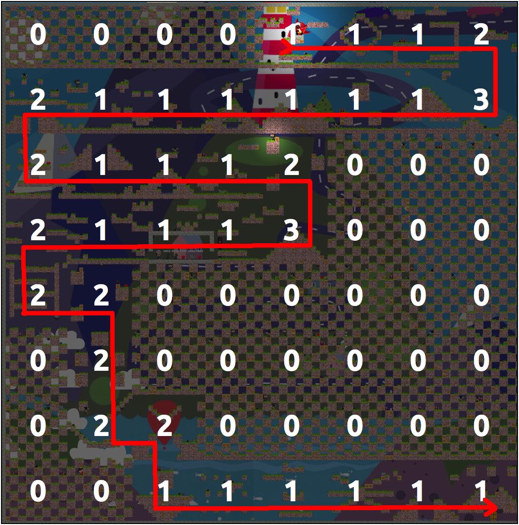 Алгоритмы интеллектуальной автогенерации уровней в iOS игре - 6