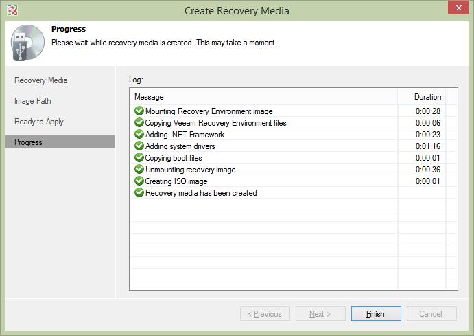 Обзор Veeam Endpoint Backup Free — продукта для бесплатного резервного копирования ноутбуков и компьютеров под управлением Windows - 10