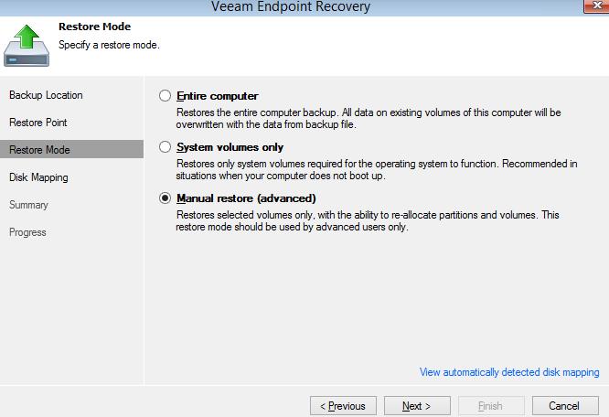 Обзор Veeam Endpoint Backup Free — продукта для бесплатного резервного копирования ноутбуков и компьютеров под управлением Windows - 14