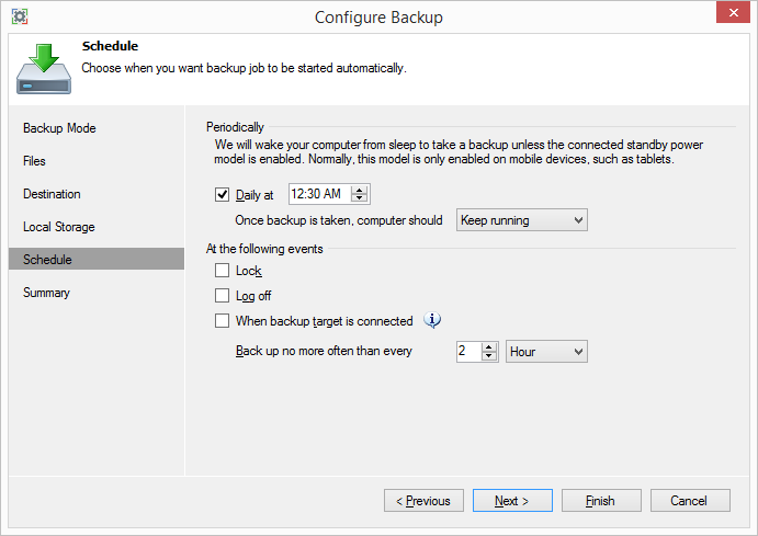 Обзор Veeam Endpoint Backup Free — продукта для бесплатного резервного копирования ноутбуков и компьютеров под управлением Windows - 8
