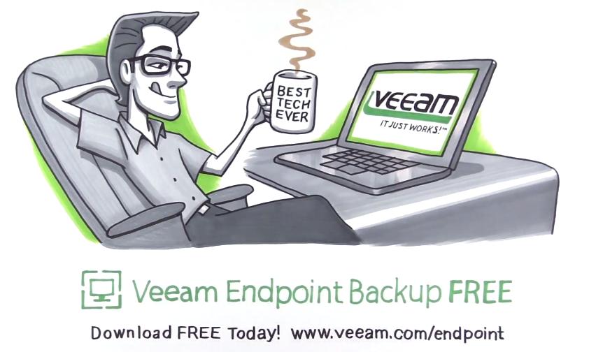 Обзор Veeam Endpoint Backup Free — продукта для бесплатного резервного копирования ноутбуков и компьютеров под управлением Windows - 1