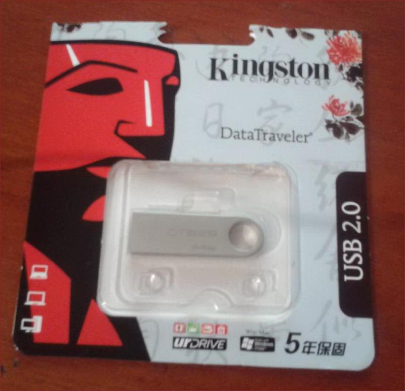 Осторожно, подделка! Как вовремя разглядеть поддельные USB накопители Kingston - 2